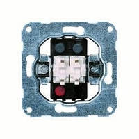 """Механизм выключателя 2-клавишного типа """"контактор"""" Hager Fiorena 11004802"""