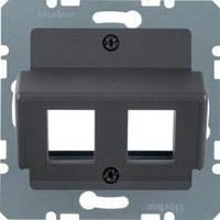 Накладка для модулей AMP антрацит Berker B.3/B.7/K.1 14631606