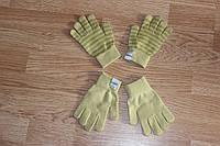 Перчатки детские Оливковый 1 - 12 лет