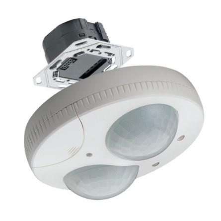Датчик присутствия 2-канальный с головкой Hager EE810
