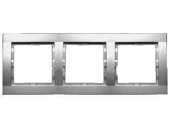 Рамка 3-я металлик Hager Fiorena 22011819