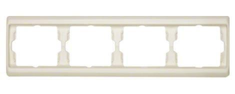 Рамка 4-ная белый горизонтальная Berker ARSYS 13830002