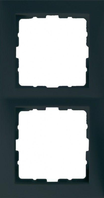 Рамка антрацит 2-ная Berker S.1 5310128986