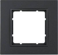 Рамка пластиковая антрацит 1-ная Berker B.7 10116626