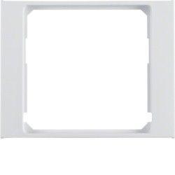 Рамка промежуточная для центральной платы, полярная белизна, Berker K.1 11087009
