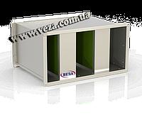Шумоглушитель пластинчатый канальный Канал-ГКП-100-50