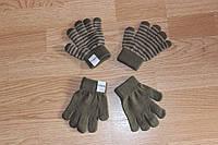 Детские Серые перчатки 1 - 6 лет