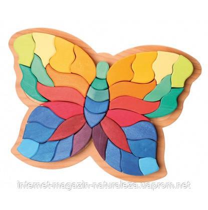 Мозаика объемная ТМ Grimms Бабочка большая, фото 2