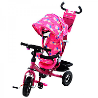 Трехколесный велосипед Azimut BC-17B AIR Розовый