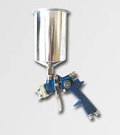 Пистолет покрасочный с верхним металлическим бачком, сопло 1,4/2,0 мм проф Jobi