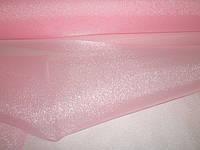 Органза японская нежно-розовая