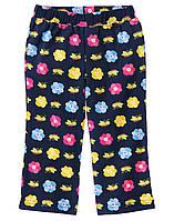 Детские трикотажные штаны для девочки  6-12 месяцев