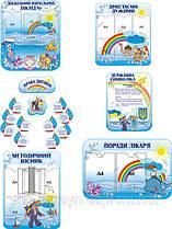 Набір стендів на морську тематику (пластик)
