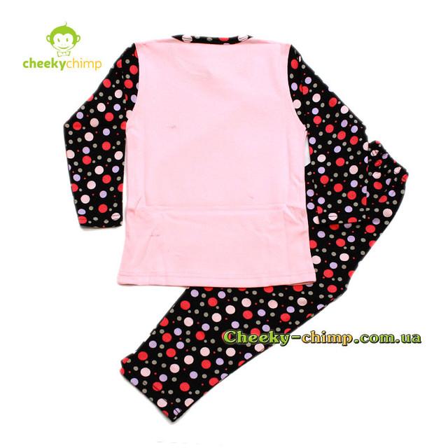 Пижама Sweet розовая на девочку 4, 5, 6 лет