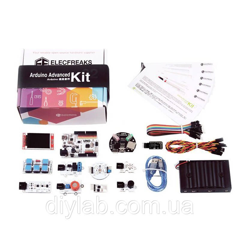 ElecFreaks Arduino Advanced Kit (12 модулів, 6 уроків), фото 1
