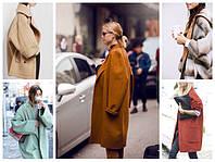 Как носить пальто oversize? + фото