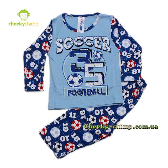Пижама Football на мальчика 1, 2, 3 года