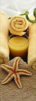 Арома-массаж ног масляной свечой