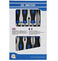 Набор отверток плоских 8 элем. 30118mr King tony King Tony