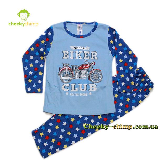 Пижама Biker на мальчика 4, 5, 6 лет