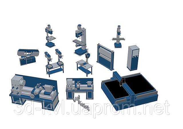 3D моделирование и анимация оборудования - Инженерное проектирование 3D - KVL в Киеве