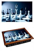 Поднос-картина на подушке Шахматы