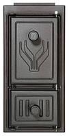 0314 Чугунная дверца варочной печи (217x442)