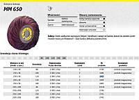 Лепестковый круг 250 x 50 мм p120 ls309jf Klingspor