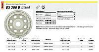 Алмазный отрезной диск для шлифования бетона, ds300b 125 х 22,2 мм сегментный Klingspor