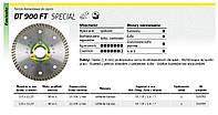 Отрезной алмазный круг turbo 125 х 1,4 х 22,2 мм специаль dt900ft, гранит,каменке Klingspor