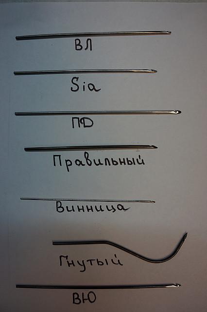 Крючек прошивной (для прошивки подошвы обуви) СІА 0,8мм., 1мм., 1,2мм., 1,4, 1,6мм., 1,8мм., 2,0 мм. - Обувь-комплект в Киеве