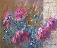 """Картина """"Пионы"""" (картины для дома, картины для интерьера с цветами)"""