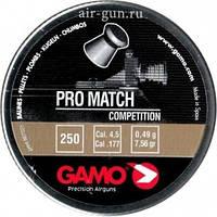 Пуля Gamo Pro Match 250, пули пневматические, патроны для пистолета, газовые баллоны