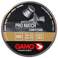 Пуля Gamo Pro Match 500, пули пневматические, патроны для пистолета, газовые баллоны