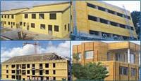 Утепление зданий напыляемым пенополиуретаном (ППУ)