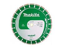 Диск алмазный 350x25,4/20 мм сегментный neutron rapide Makita