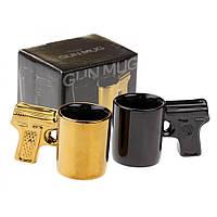 Чашка кофейная  Пистолет , 2 шт.
