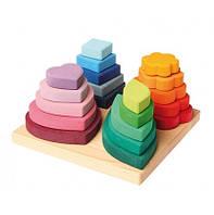 Пирамидка Grimms 4 формы