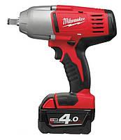 Аккумуляторный ударный гайковерт 1/2 18 610нм 2 x 4,0 ah red li-ion hd18hiwf-402c Milwaukee