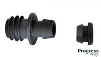 Стартер для капельной трубки с уплотнительной резинкой (SL-018) DN 16*8 сантехпласт Фитинг для