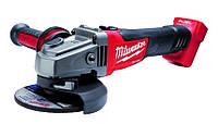 Угловая шлифовальная машина аккумуляторная 18v, без батареи и загр. m18cag125x-о Milwaukee
