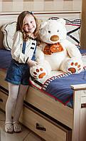 Мягкая игрушка Тигрес Медведь Мемедик 65 см, белый (ВЕ-0076)