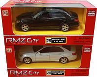 Машинка RMZ  Mercedes Benz E63 1:32, в асс. (554999)