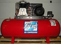 Компрессор поршневой с ременным приводом, Vрес=300л, 800л/мин Италия FIAC AB300/800/380