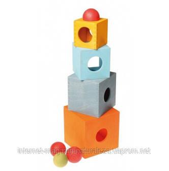 Пирамидка Grimms Танцующие коробочки, фото 2