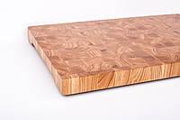 Кухонная торцевая разделочная доска 70х45х6 см из ясеня 0008