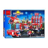 Конструктор пожарная часть МЧС 911 BRICK