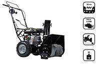 Снегоочиститель бензиновый с приводом, двигатель loncin 5,5 км 56см gst55 черная Nac NAC