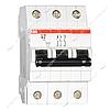 Автоматический выключатель трехполюсный АВВ SH203-С63