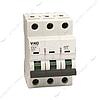 Автоматический выключатель трехполюсный Viko 3р 50А С 4, 5кА